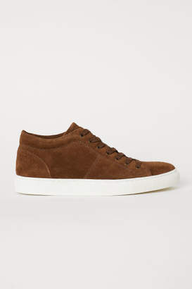H&M Suede Sneakers - Beige