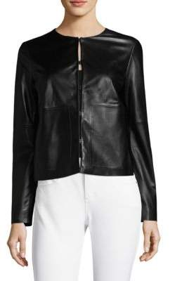 Escada Sport Short Leather Jacket