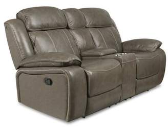 Red Barrel Studio Principato Dual Leather Reclining Loveseat Red Barrel Studio