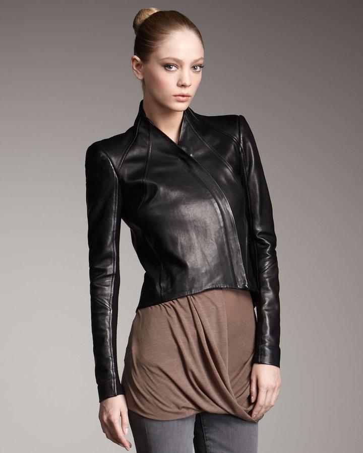 Helmut Lang Analog Leather Jacket