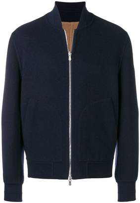 Brunello Cucinelli reversible bomber jacket