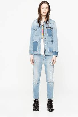 Zadig & Voltaire Elios Denim Destroy Jeans