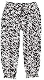 Ikks Kids' Cheetah-Print Drawstring Pants-Stripe Size 10 Yrs