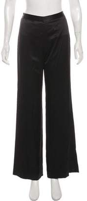 Jenni Kayne Crepe Satin Wide Leg Pants