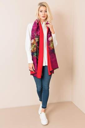 Silvia Rossini Pia Flowered Wrap/scarf