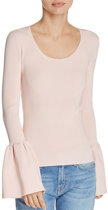 Elizabeth and James Willow Bell Sleeve Top $325 thestylecure.com