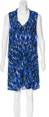 Thakoon Printed Knee-Length Dress