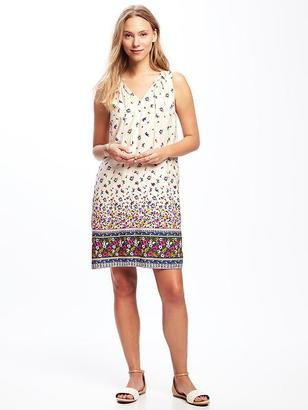 Printed Tassel Shift Dress for Women $34.94 thestylecure.com