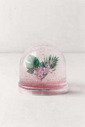 Urban Outfitters Heart Flower Snow Globe