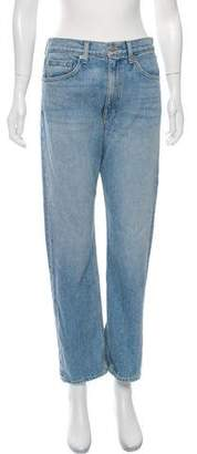 Brock Collection High-Rise Straight-Leg Jeans w/ Tags