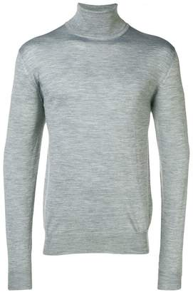 Eleventy turtleneck fitted sweater