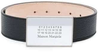 Maison Margiela logo buckle belt
