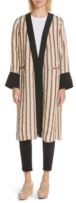 Rachel Comey Rambler Stripe Kimono Jacket