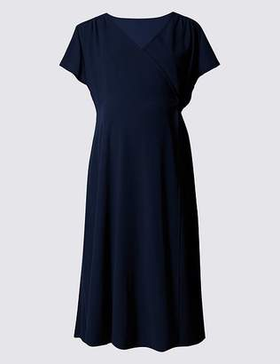 Marks and Spencer Maternity Wrap Dress