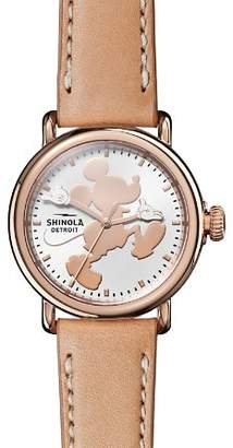 Shinola x Disney Mickey Classics Collection Runwell Watch, 36mm