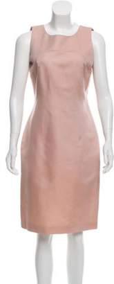 Luca Luca Sleeveless Knee-Length Dress Pink Luca Luca Sleeveless Knee-Length Dress
