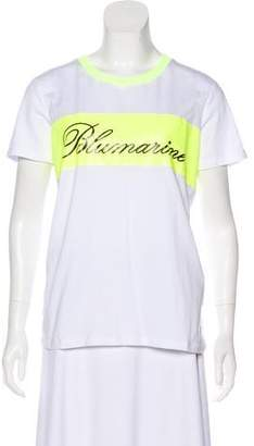 Blumarine Jersey Short Sleeve Top w/ Tags