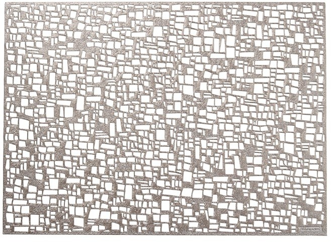 """Chilewich Cubic"""" Rectangular Placemat, 14"""" x 19"""""""