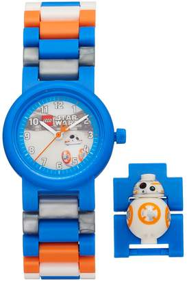 Lego Kids' Star Wars: Episode VIII The Last Jedi BB-8 Minifigure Interchangeable Watch Set