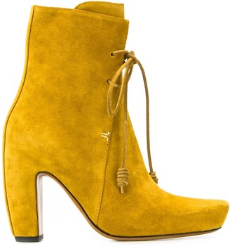Lanvin 150mm ankle lace-up boots