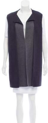 Calvin Klein Collection Virgin Wool Longline Vest