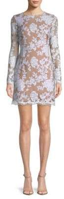 Dress the Population Grace Lace Long-Sleeve Dress