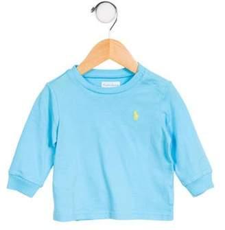 Ralph Lauren Boys' Knit Long Sleeve Shirt