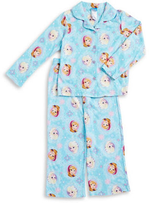 Ame Sleepwear Frozen Pajama Top and Pants Set $36 thestylecure.com