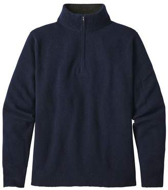 Patagonia Men's Recycled Cashmere 1/4-Zip Sweater