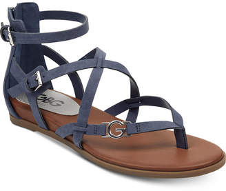 e6bb36326844 G by Guess Carlyn Flat Sandals Women Shoes