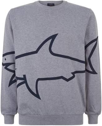 Paul & Shark Shark Outline Sweatshirt
