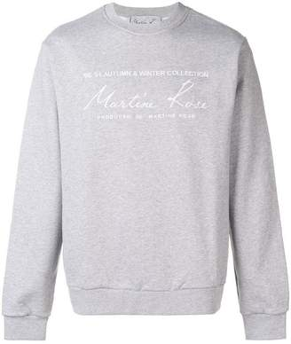 Martine Rose oversized fit sweatshirt