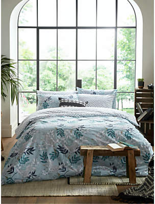 Fat Face Oriental Crane Reversible Duvet Cover Set