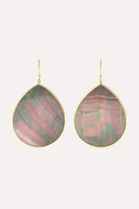 Ippolita Polished Rock Candy 18-karat Gold Shell Earrings