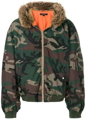 Yeezy Season 5 hooded bomber jacket