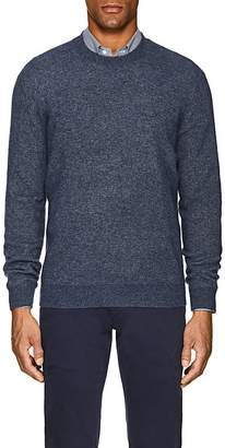 Loro Piana Men's Rib-Knit Cashmere-Silk Sweater