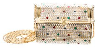 Judith Leiber Crystal Embellished Minaudiere $445 thestylecure.com