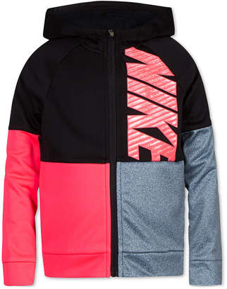 Nike Toddler Girls Therma-fit Full-Zip Hooded Sweatshirt