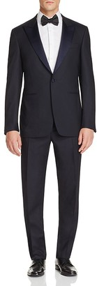 Canali Textured Peak Regular Fit Tuxedo $2,090 thestylecure.com
