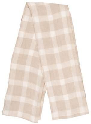 eskandar Stripe Knit Scarf