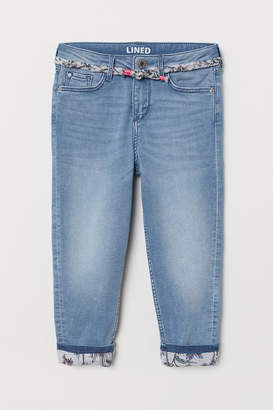 H&M Relaxed Fit Lined Jeans
