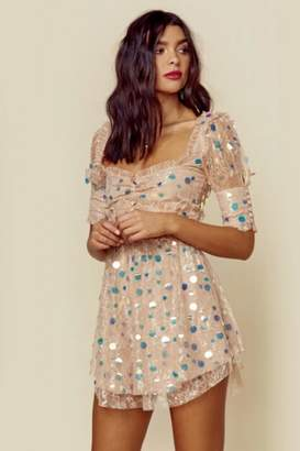 For Love & Lemons Ace Mini Dress
