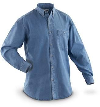Wrangler Men's Big/Tall Rugged Wear Basic Shirt