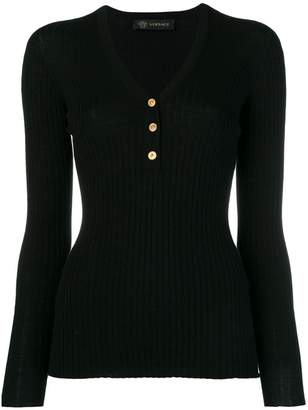 Versace fitted sweater