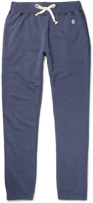 Todd Snyder + Champion Slim-Fit Tapered Loopback Cotton-Blend Jersey Sweatpants $130 thestylecure.com