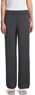 Saks Fifth Avenue Wide-Leg Cashmere Pants