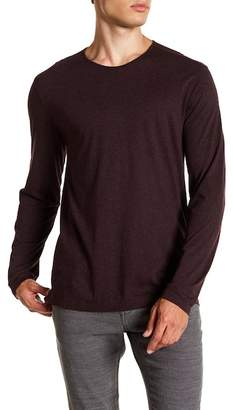 John Varvatos Collection Crew Neck Long Sleeve Cashmere Shirt