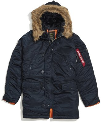 Alpha Industries Slim Fit N-3B Parka $199 thestylecure.com