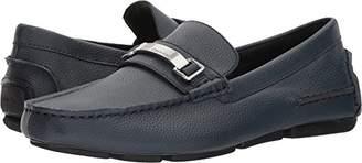 Calvin Klein Men's Mikos Tumbled Leather Loafer