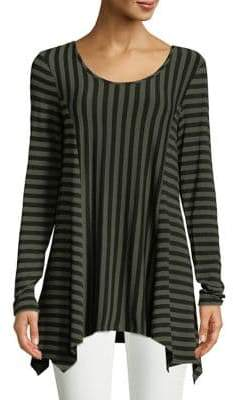 Context Striped Sharkbite Tunic